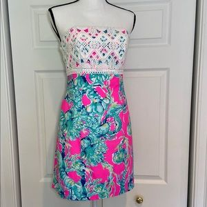 Lilly Pulitzer Brynn Dress LOBSTERS IN LOVE 2